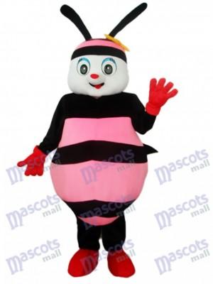 Black & Pink Bee Maskottchen Kostüm für Erwachsene Insekt