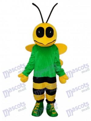 Green Bee Maskottchen Kostüm für Erwachsene Insekt