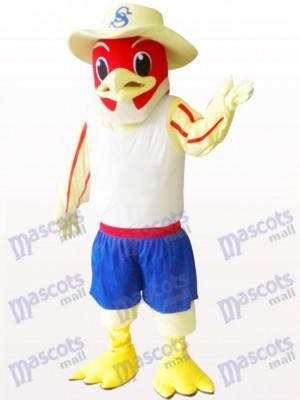 Roter Vogel Tier Maskottchen Kostüm für Erwachsene