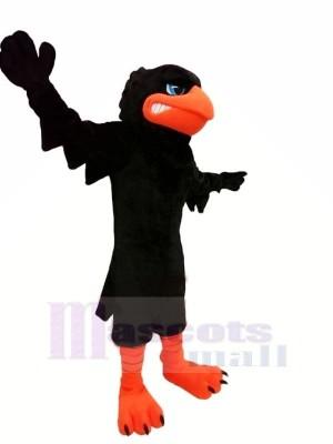 Schwarz Krähe Maskottchen Kostüme Tier