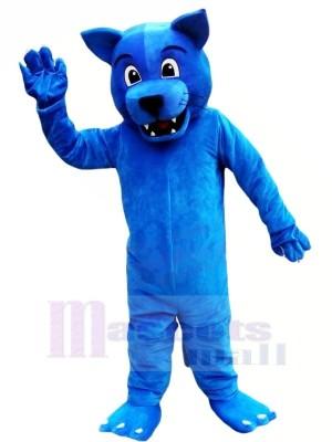 Lustig Blau Leopard Maskottchen Kostüme Tier