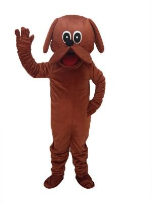 Nettes Rötliches Brown Rooney Hund Maskottchen Kostüm