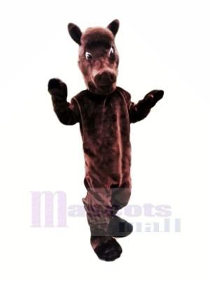 Braun Leicht Pferd Maskottchen Kostüme Tier