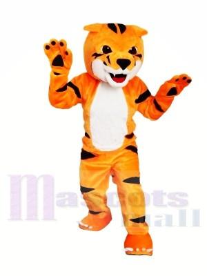 Schönes Tiger Maskottchen Kostüm für Weihnachten