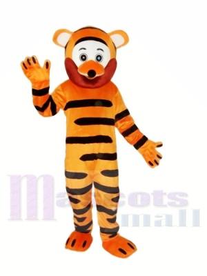 Alte Version Tiger Maskottchen Kostüm für Erwachsene Kostenloser Versand