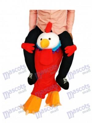 Huckepack Red Chick Carry Me Ride auf Hahn Maskottchen Kostüm chipmunks kostüm huckepack kostüm selber machen