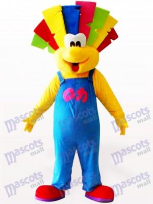 Nettes Clown Party Maskottchen Kostüm für Erwachsene