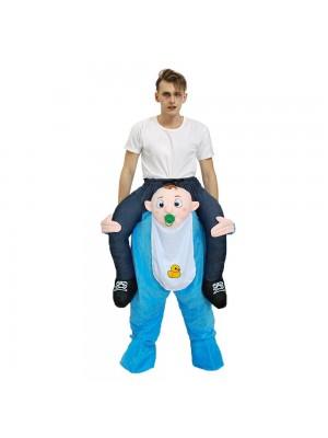 Baby Säugling Tragen mich Reiten auf Schick Kleid Kostüm zum Erwachsener/Kind