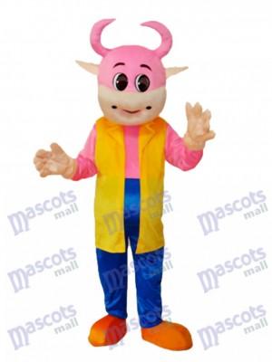 No.1 Kuh Maskottchen Erwachsene Kostüm Tier