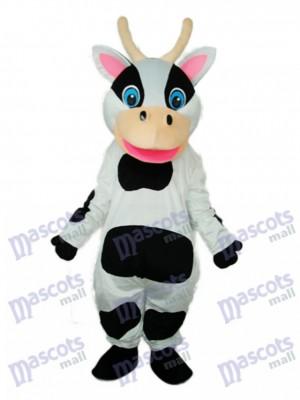 Schwarze Dot Kuh Maskottchen Erwachsene Kostüm Tier