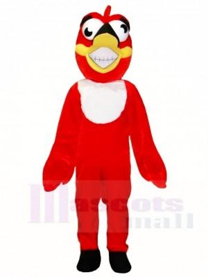 rot Verrückt Vogel Maskottchen Kostüme Tier