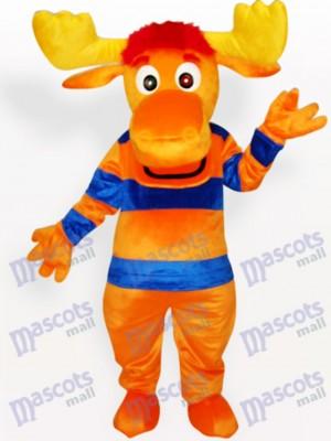 Stripe Deer Tier Maskottchen Kostüm für Erwachsene