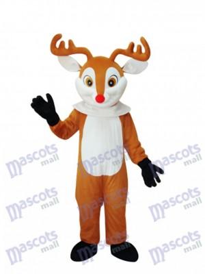 Golden Sika Deer Maskottchen Erwachsene Kostüm Tier