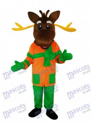 Weihnachten Deer Maskottchen Adult Kostüm Tier