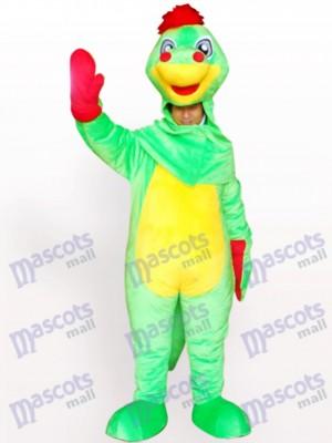 Open Face Dinosaurier Maskottchen Kostüm für Erwachsene