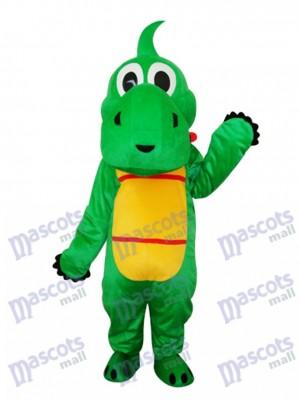 Yoshi Dinosaurier Maskottchen Erwachsene Kostüm Tier