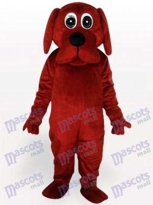 Brauner Rooney Hund Tier Maskottchen Lustiges Kostüm