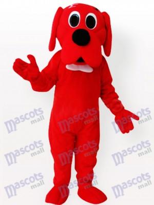 Roter Hund Maskottchen Kostüm für Erwachsene