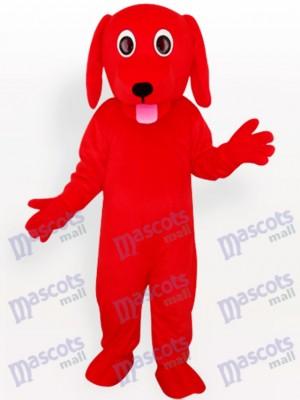 Red Dog Tier Maskottchen Kostüm für Erwachsene