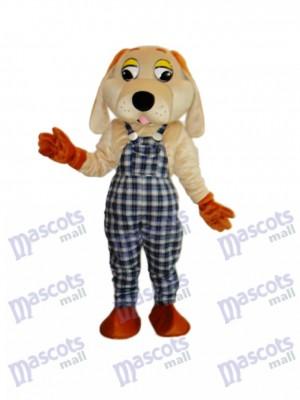 Lucky Hund Maskottchen Erwachsene Kostüm Tier