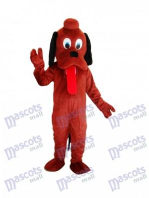 Brown Pluto Hund Maskottchen Erwachsene Kostüm Tier