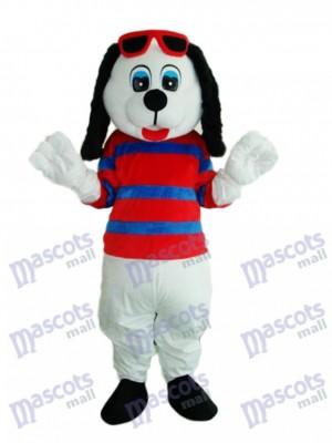 Happy Hund Maskottchen Erwachsene Kostüm Tier