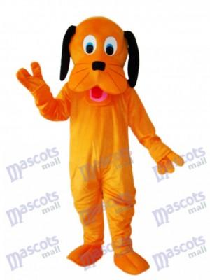 Orange Hund Maskottchen Erwachsene Kostüm Tier
