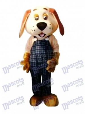 Lucky Dog Maskottchen Adult Kostüm Tier