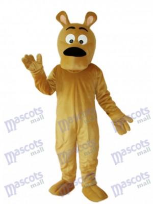 Grauer Hund Maskottchen Erwachsener Kostüm Tier
