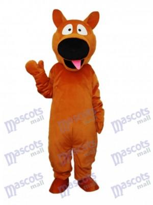 Brown Hund Maskottchen erwachsenes Kostüm Tier