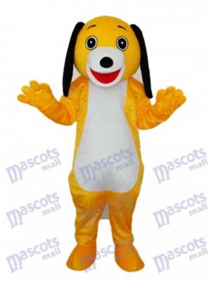 Kleine braune Hund Maskottchen Erwachsene Kostüm Tier