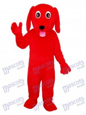 Kleine rote Hund Maskottchen Erwachsene Kostüm Tier