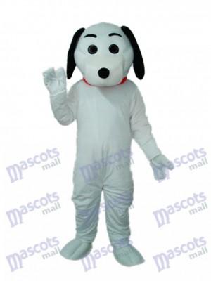 Little White Dog Maskottchen Adult Kostüm Tier