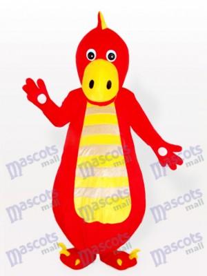 roter Drache Maskottchen Kostüm für Erwachsene
