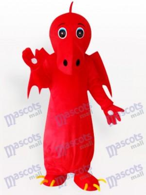 Roter chinesischer Drache Maskottchen Kostüm für Erwachsene