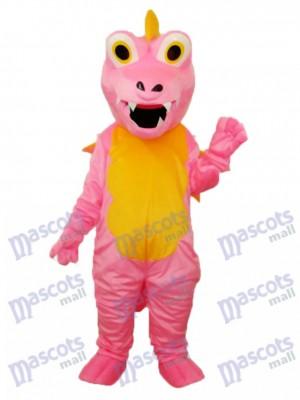 Rosa Lange Dorn Drachen Maskottchen Erwachsene Kostüm Tier