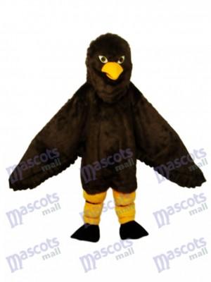 Langhaarige Brown Eagle Maskottchen Erwachsene Kostüm Tier