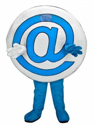 E-Mail Symbol bei @ Maskottchen Kostüme Tier