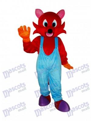 Red Fox Maskottchen Erwachsene Kostüm Tier