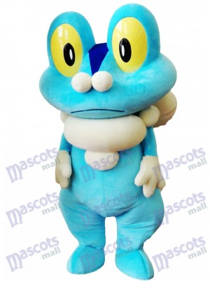 Blue Frog Froakie Maskottchen Kostüm Pokemon Pokémon GO Pocket Monster