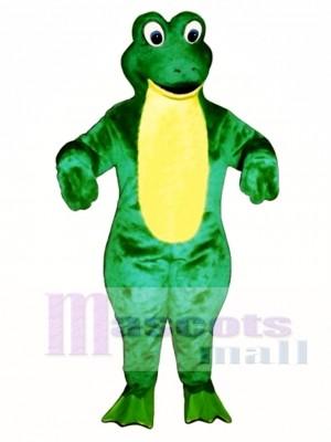 Froggy Frosch Maskottchen Kostüm