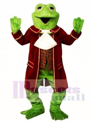 Kolonial Frosch Maskottchen Kostüm