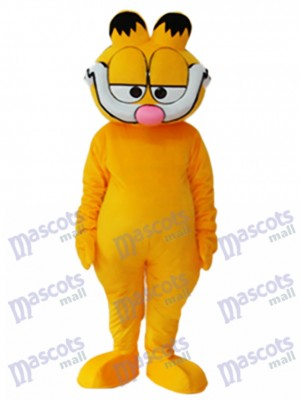 Super Cute Garfield Maskottchen Erwachsene Kostüm Cartoon Anime