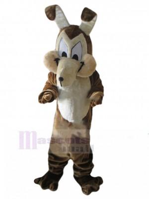Urkomisches Wolf-Hundemaskottchen-Kostüm mit langen Ohren Tier
