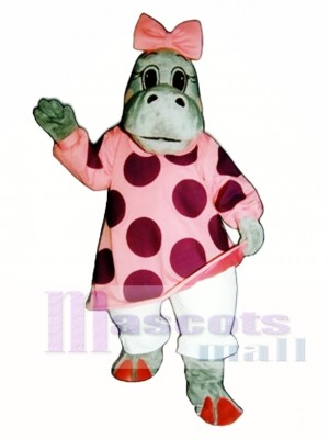 Hilary Nilpferd Maskottchen Kostüm