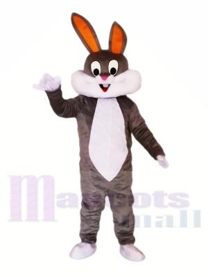 Süß Grau-weiß Hase Maskottchen Kostüme