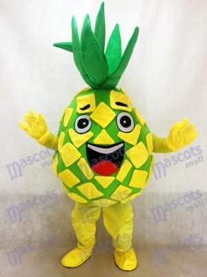 Gelb Ananas Pete Maskottchen Kostüm Frucht