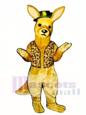 Nieder Unter Känguru Maskottchen Kostüm