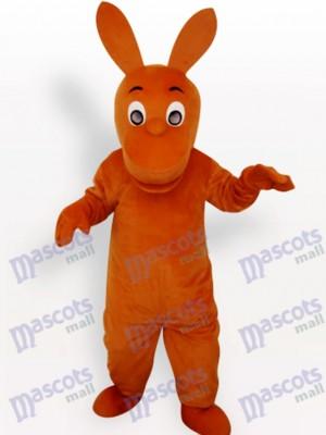 Känguru Maskottchen Kostüm für Erwachsene