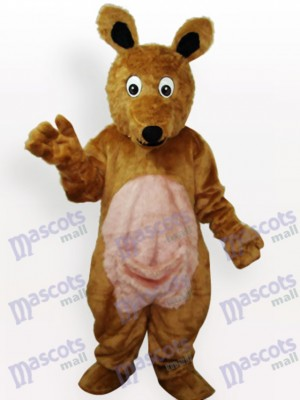 Känguru Plüsch Maskottchen Kostüm für Erwachsene